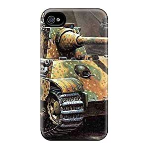 Faddish Phone Panther Ausf F Case For Iphone 4/4s / Perfect Case Cover