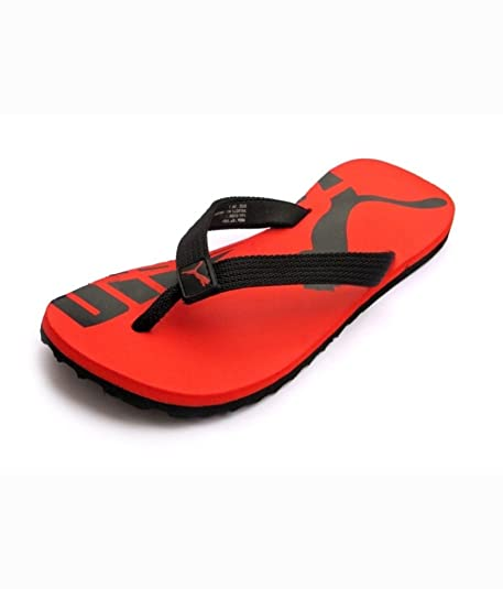 be33a11b4d5d Puma Men s Red Synthetic Flip Flops (SC002 7UK)  Buy Online at Low ...