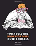 Tween Coloring Books For Girls: Cute
