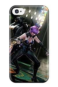 Sanp On Case Cover Protector For Iphone 4/4s (ninja Gaiden Fantasy Anime Warrior Sword Sexy Babe Monster )