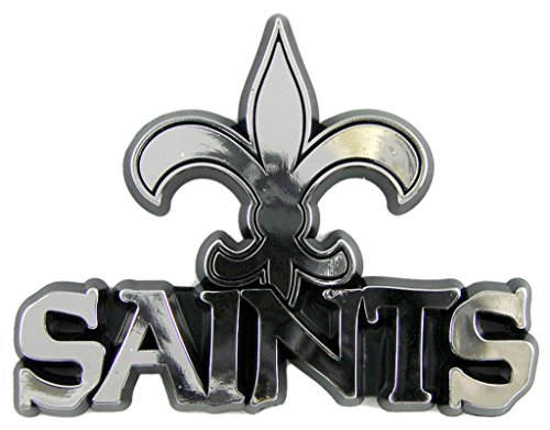 NFL New Orleans Saints Chrome Automobile Emblem Football Merchandise