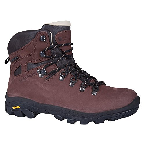 Mountain Warehouse Excalibur Mens Boots - Waterproof Hiking Shoes Brown 12 M US - E And S Mens Warehouse