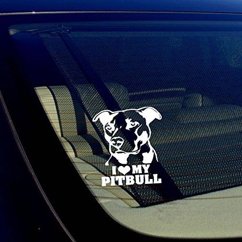 pitbull window decal - 3