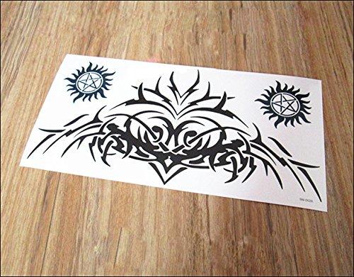 kotbs large totem tattoo sticker similar randy orton back tattoo big size temporary tattoos for. Black Bedroom Furniture Sets. Home Design Ideas
