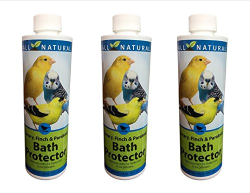 Care Free Enzymes 3-Pack Canary, Finch & Parakeet Bath Protector 94003 16 oz. by Care Free Enzymes