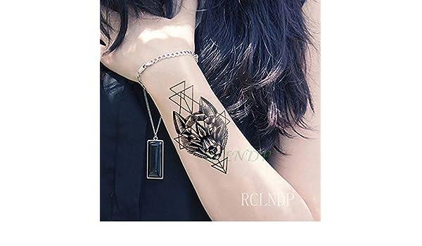5pcs Impermeable del Tatuaje Pegatinas Círculo de la Mariposa Pie ...