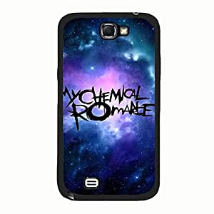 Artistic Logo My Chemical Romance Phone Case Cover For Samsung Galaxy Note 2 n7100 MCR Luxury Pattern
