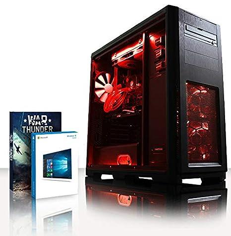 Vibox Apache 9XW Gaming PC Ordenador de sobremesa con 2 Juegos Gratis, Windows 10 Pro OS (3,7GHz AMD Ryzen Quad-Core Procesador, Nvidia GeForce GTX ...