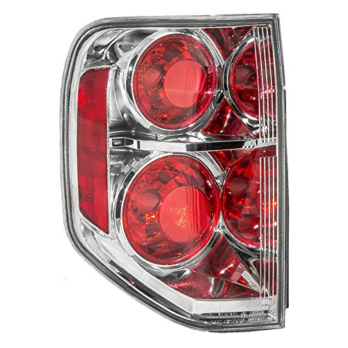 Honda Pilot Tail Light (Drivers Taillight Tail Lamp Replacement for Honda SUV 33551-S9V-A11)