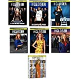 The Closer Complete Series Collection on DVD Seasons 1-7 Season 1 2 3 4 5 6 7