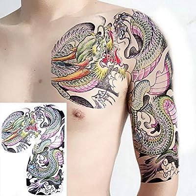 Handaxian 3pcs Tatuaje Tatuaje de Hombro de los Hombres Pegatinas ...