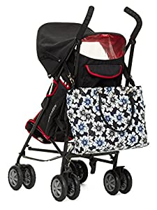 Kate Spade Emerson Place Floral Print Pauline Baby Bag, Black Multi from Kate Spade New York