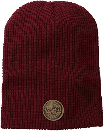 Urban Mens Hat (Wigwam Men's Urban Slouch Hat, Red Heather, One Size)