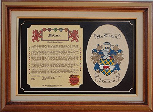 Family History And Coat Of Arms. by Shield And Crest