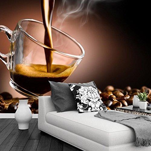 Yosot Benutzerdefinierte Wandbild Kaffee Korn Schale Essen ...