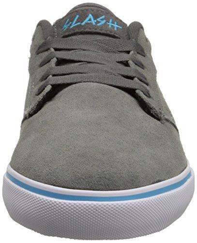 Scarpe FALLEN 43+44.5 (US 10+11) SLASH grigio skate shoes Sneaker cement/ash