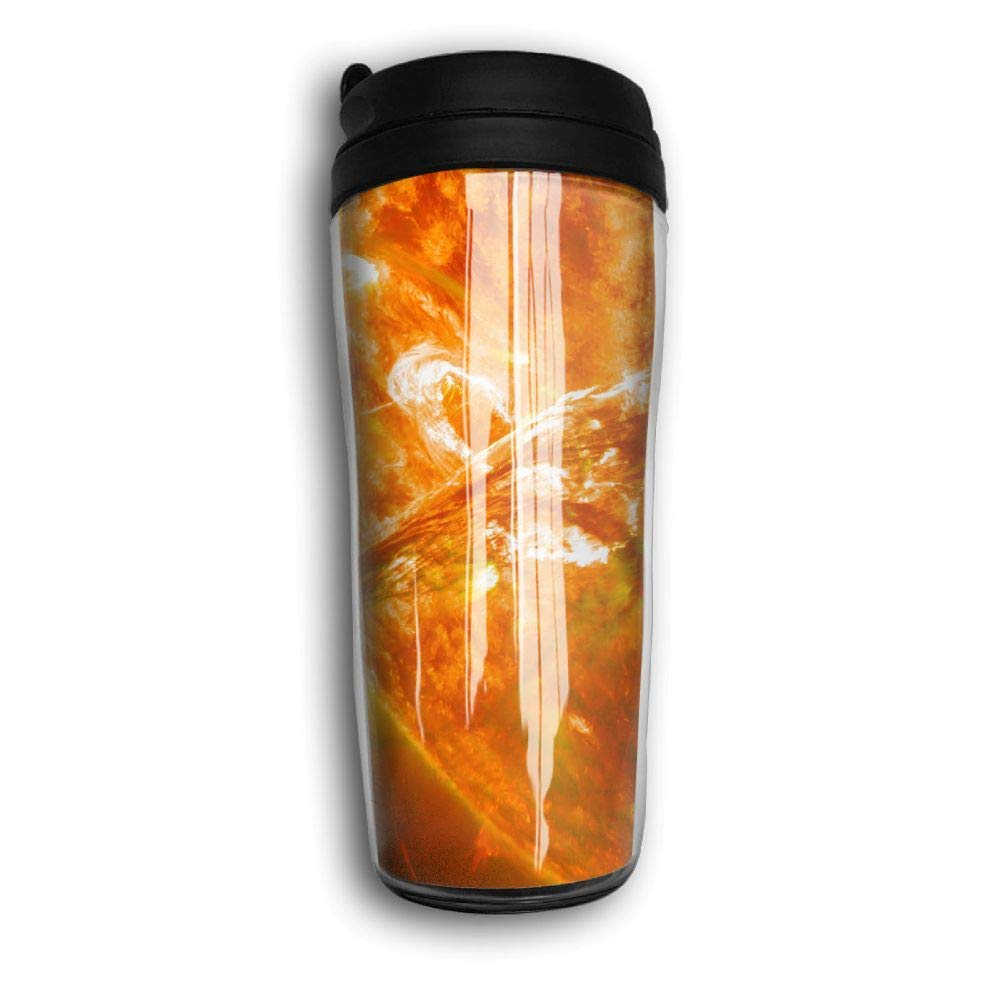 Sunspot Solar Travel Mug Coffee Thermos Stainless Steel Flask Water Bottle