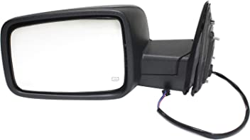 Mirror Compatible with 2014-2018 Chevrolet Silverado 1500//GMC Sierra 1500 Power Manual Folding Heated with BSG All Cab Types Paintable Driver Side