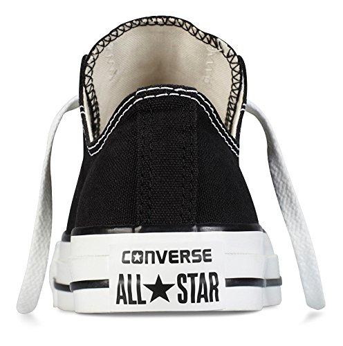Converse Chuck Taylor All Star Ox, Zapatillas de Gimnasia para Hombre Negro