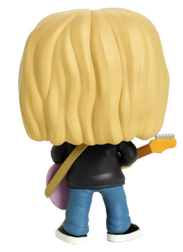 Hot Topic Exclusive 26091 Rocks: Kurt Cobain Nirvana Funko Pop MTVs Live and Loud 1993 Limited Edition Vinyl Figure # 66
