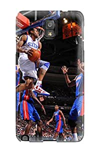 6871501K470314958 philadelphia 76ers nba basketball (25) NBA Sports & Colleges colorful Note 3 cases