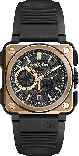 Bell & Ross Experimental BR-X1 Rose Gold and Ceramic Men's Watch (Ref. BRX1-CE-PG)