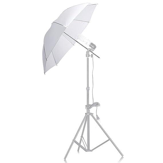 """Neewer ® de montaje en Flash tres paraguas Kit 233/""""//84cm Blanco Suave//Plata Reflectante"""
