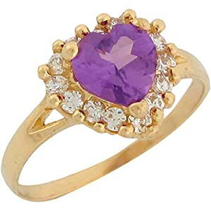 Amazon.com: Jewelry Liquidation 10k Yellow Gold Synthetic
