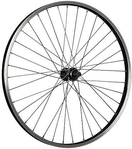 Taylor Wheels 26 pouces roue avant vélo aluminium Nirosta 559-21 noir//argent