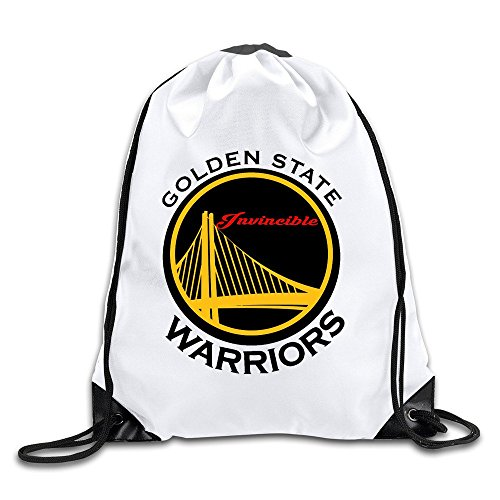 BOoottty Invincible GSW WARRIORS Logo Drawstring Backpack Bag