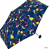 世界派对(Wpc.) 迪士尼雨伞 折叠伞 *蓝 50cm 女士 小袋型 爱丽丝/花园迷你 DS041-179 NV