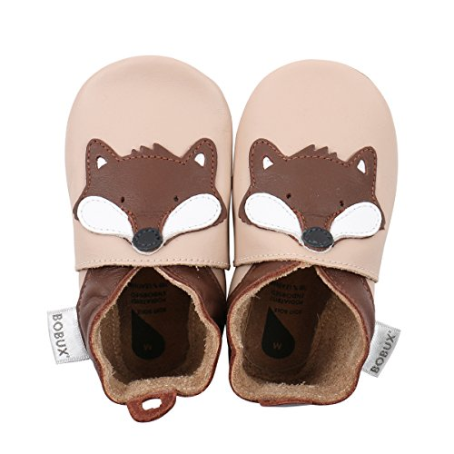 - Bobux Baby Boys Shoes Premium Leather Soft Sole Shoes for Infants and Toddlers M (9-15 mo.) Beige