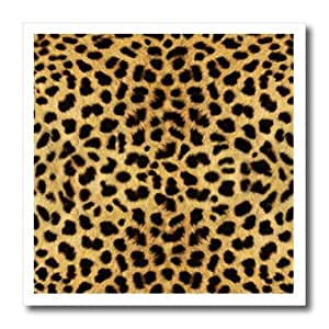 ht_20340_1 Janna Salak Designs Prints and Patterns - Cheetah Animal Print - Iron on Heat Transfers - 8x8 Iron on Heat Transfer for White Material