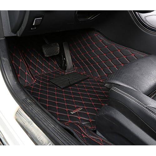 2018 GG Bailey D51467-F1A-CC-CHAR Custom Fit Car Mats for 2017 2019 Jaguar XE Courture Charcoal Driver /& Passenger Floor