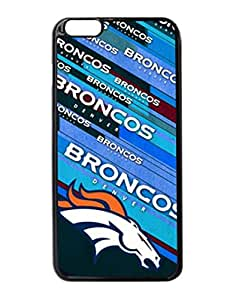 """Denver Broncos Hard Snap On Protector Sport Fans Case Cover iPhone 6 Plus 5.5"""" inches by DyannCovers"""