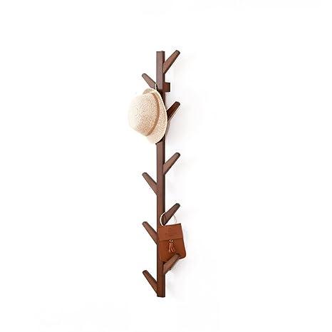 Amazon.com: COAT RACK Bambú Dormitorio Salón Puerta Colgante ...