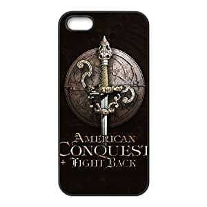 HD Beautiful image for iPhone 5 5s Cell Phone Case Black american conquest 13804 HOR8276221