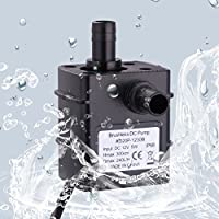 Robocraze Ultra-quiet-Brushless-Water-Pump-Waterproof-Submersible-Oil-Circulation-Aquarium Ultra-quiet-Brushless
