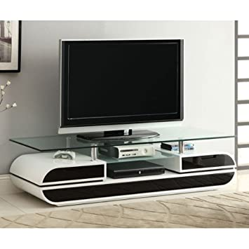 24 7 Shop at Home 247SHOPATHOME IDF-5813-TV TV Stand, White