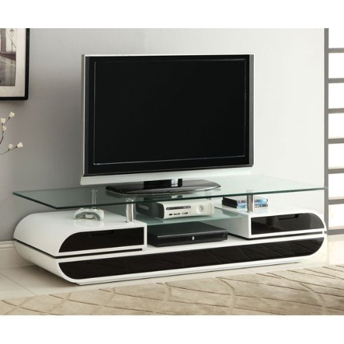 247SHOPATHOME IDF-5813-TV TV Stand, White ()