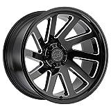 (US) 17x9.5 Black Rhino Thrust (Gloss Black W/Milled Spokes) Wheels/Rims 6x139.7 (1795THR-86140B12)