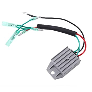 Homyl Aluminium Alloy Voltage Regulator Rectifier for 4