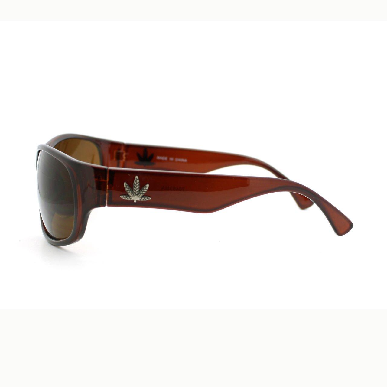Amazon.com: Hoja de Marihuana – Gafas de sol Para Hombre ...