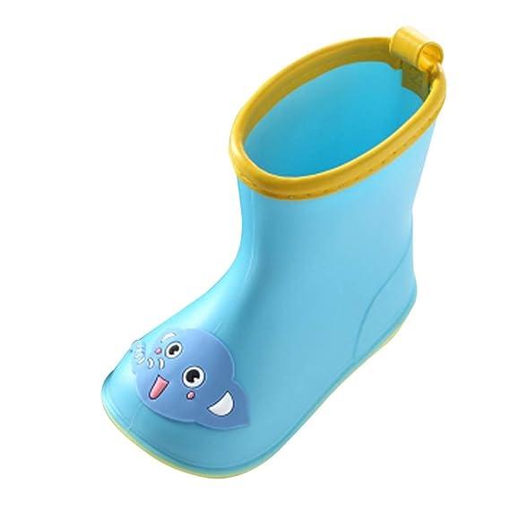 Bébé Chaussures IMJONO de Pluie Garçon Bottes Bande Enfants XPiOkuZ