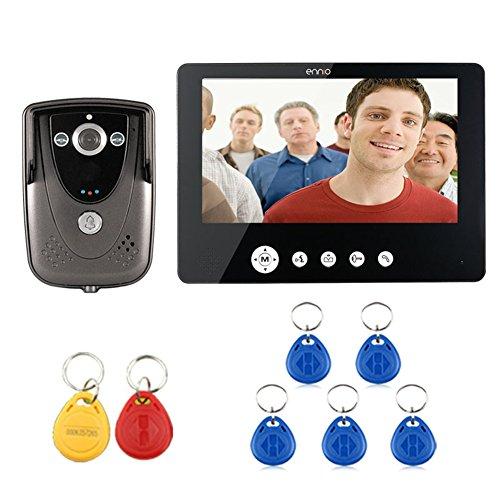 "SY 9"" Color TFT LCD Video Door Phone Doorbell Intercom Syste"