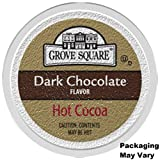 Grove Square Hot Cocoa Cups, Dark Chocolate, Single Serve Cup for Keurig K-Cup