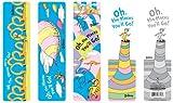 Dr Seuss Oh the Places You'll Go! Bookmark Assortment Set, 50 Pieces (67803)