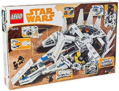 LEGO Star Wars Solo: A Star Wars Story Kessel Run Millennium Falcon 75212 Building Kit (1414 Piece)
