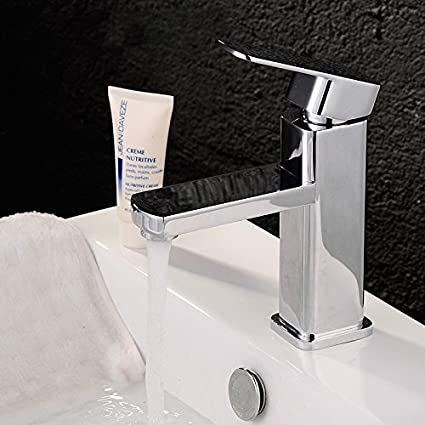 TOTAL HOME Copper Cold and Hot Water Tap Basin Faucet