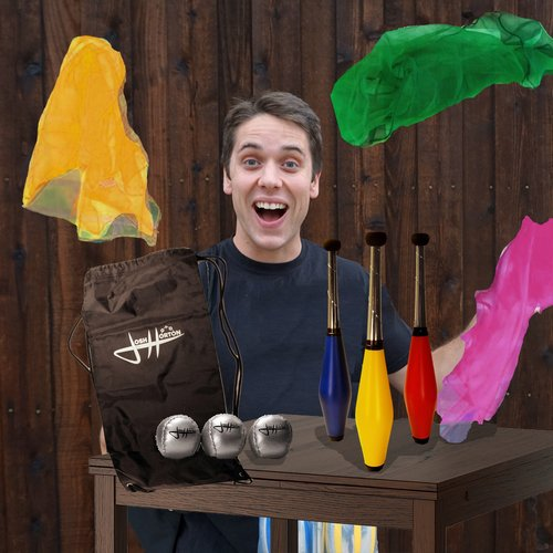 Zeekio Josh Horton Kids Beginner Juggling Set by Zeekio (Image #5)